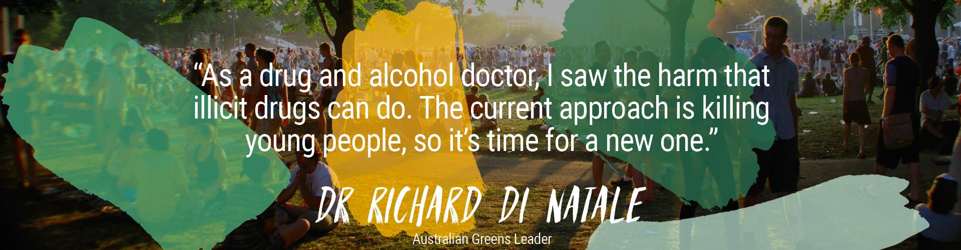 Dr Richard Di Natale